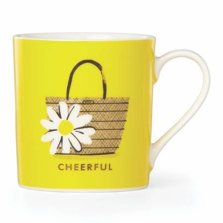 things we love mug cheerful