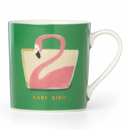 things we love mug rare bird