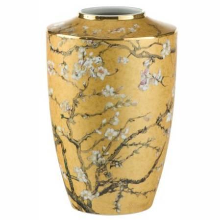 Van Gogh Almond Tree Gold Vase 41cm
