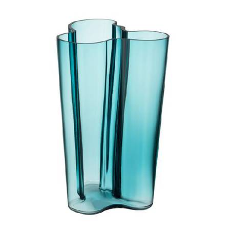 Aalto Vase 25.1cm Sea Blue