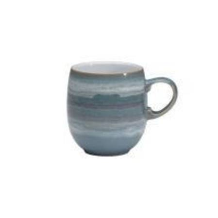 Azure 'Coast' Curved Mug Large