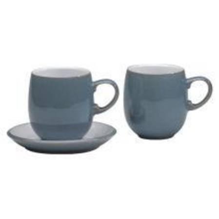 Azure Curved Mug