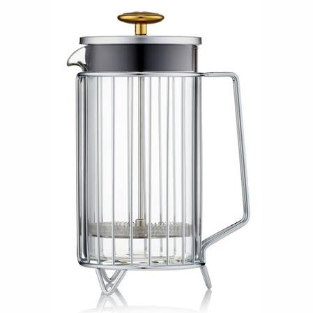 Barista Corrall Plunger Stainless Steel