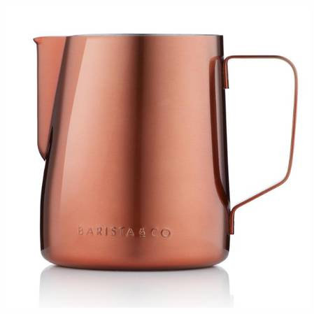 Barista Milk Jug Midnight Copper