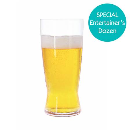 Entertainers Beer Classics Lager Beer Glass Set