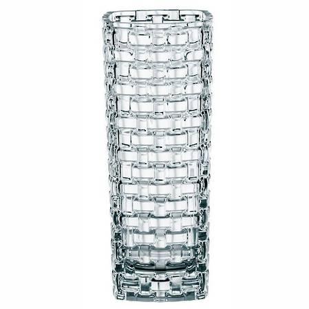 Bossa Nova Crystal Basket Vase