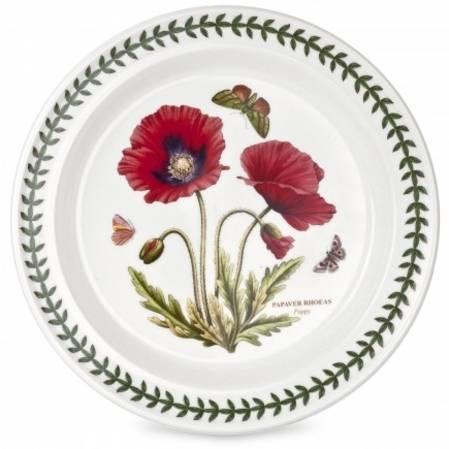 Botanic Garden Dinner Plate POPPY