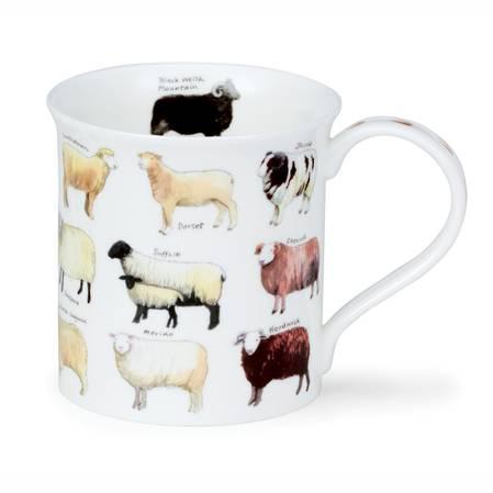 Dunoon Animal Breeds Sheep Mug