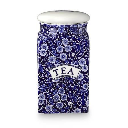 Calico Storage Jar Tea