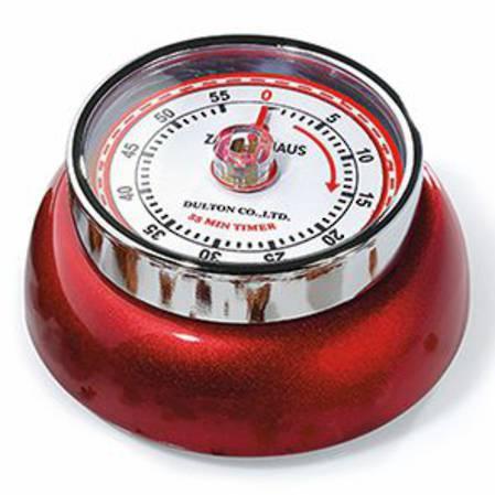 Zassenhaus Kitchen Timer - Candy Red