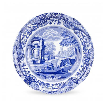 Blue Italian Cereal Bowl