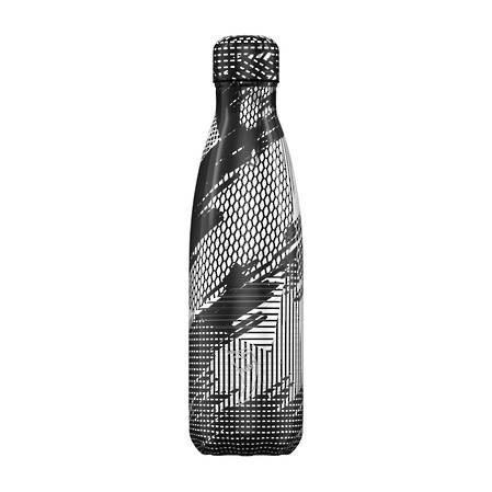 Chilly's Insulated Bottle Abstract Black 500ml