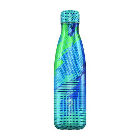 Chilly's Insulated Bottle Abstract Blue 500ml