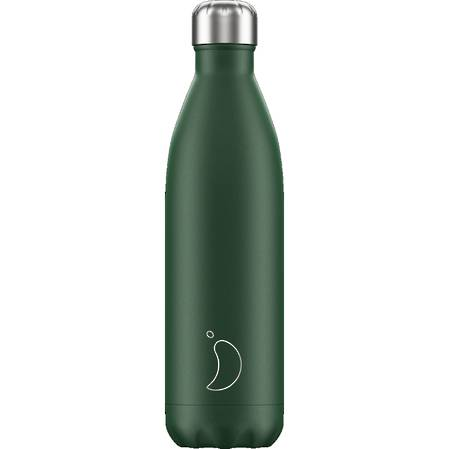 Chilly's Insulated Bottle Matte Green 750ml