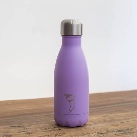 Chilly's Insulated Bottle Pastel Purple 260ml
