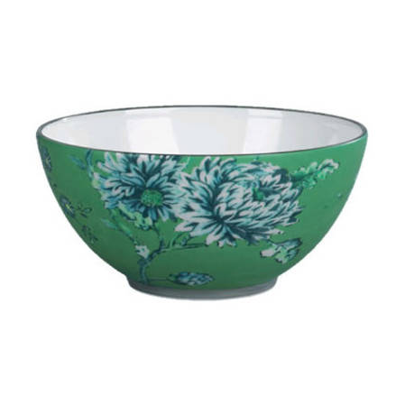 Chinoiserie Green Bowl