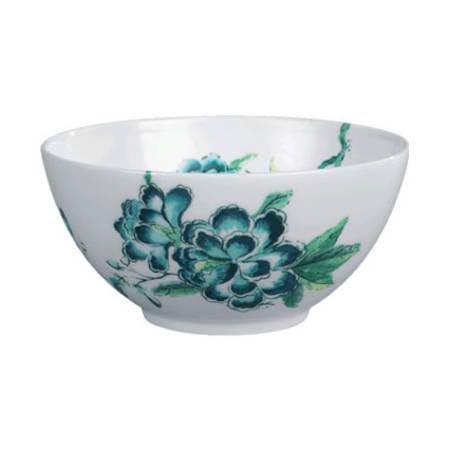 Chinoiserie White Bowl