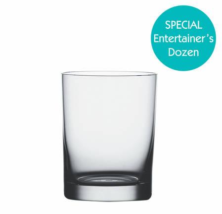 Entertainers Classic Bar XL Tumbler Glass Set