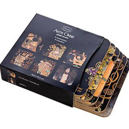 Klimt Coaster Set