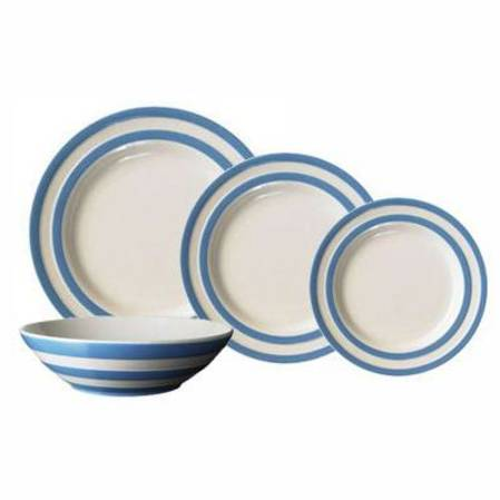 Cornish Blue Dinner Set 16 Piece