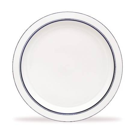 Bistro Blue Salad Plate