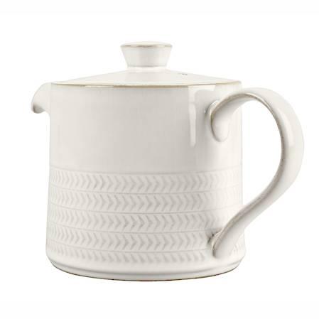 Canvas Textured Teapot