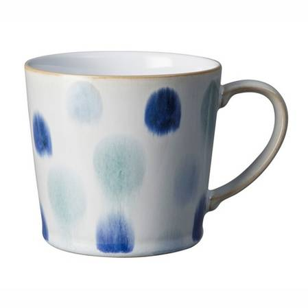 Denby Spot Mug Blue
