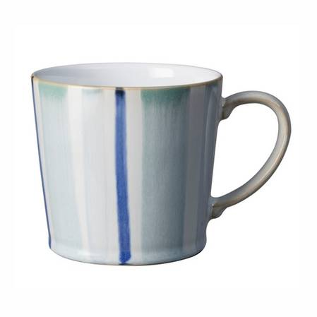 Denby Stripe Mug Blue
