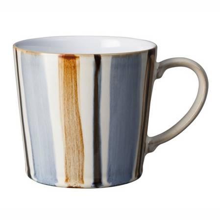 Denby Stripe Mug Brown