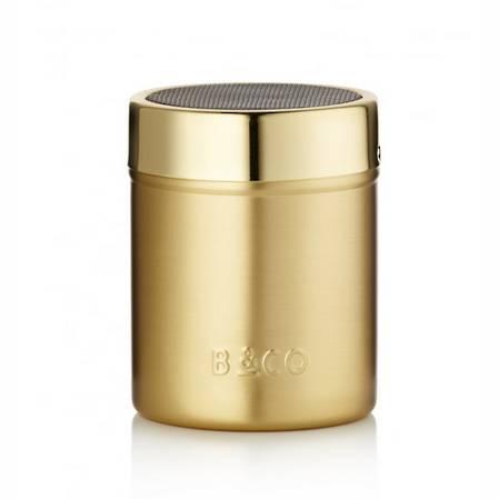 Barista Cocoa Shaker Electric Gold