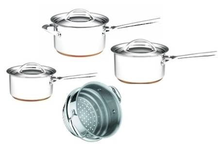 Per Vita Cookware Set 4 Piece