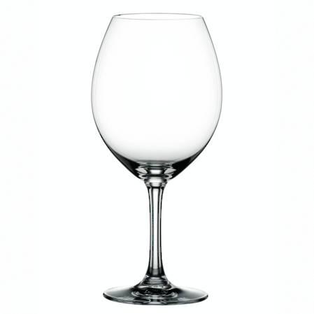 Festival Burgundy Glass Set of 6
