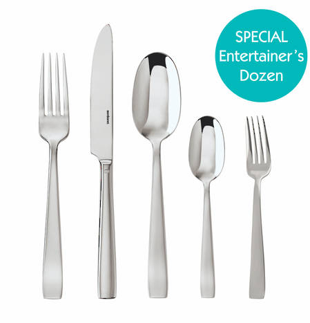 Entertainers Flat Cutlery Set