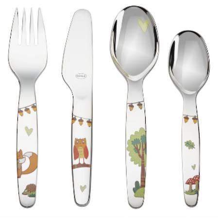 Forest Friends Childrens Cutlery Set