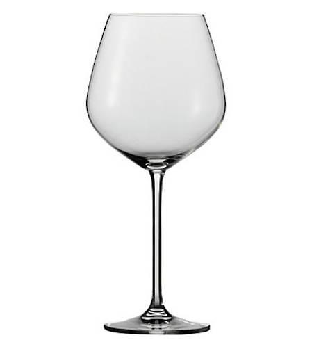 Fortissimo Burgundy Glass Set