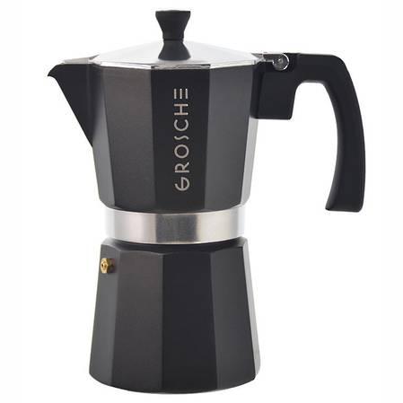 Milano Stovetop Espresso Charcoal - 3 sizes