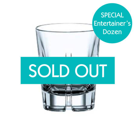 Entertainers Havanna Double Old Fashioned Glass Set