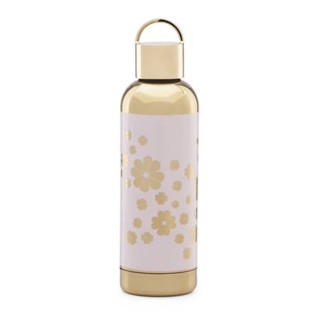 kate spade hydration blush floral bottle