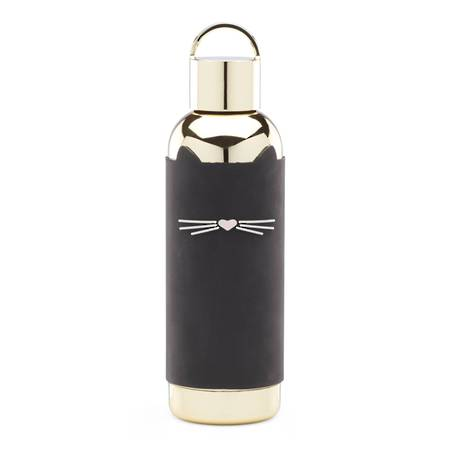 kate spade hydration cat bottle