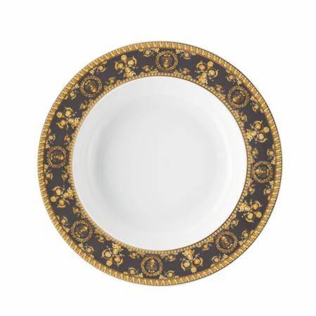 I Love Baroque Nero 22cm Deep Plate