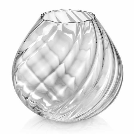 Nuvola Twisted Vase 26cm