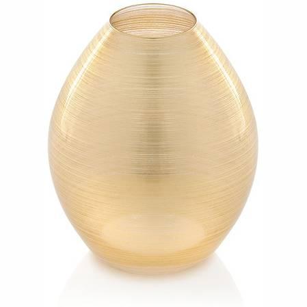 Zodiaco Gold Leaf Vase 25cm