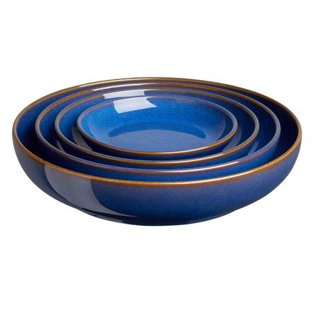 Imperial Blue Nesting Bowl Set 4