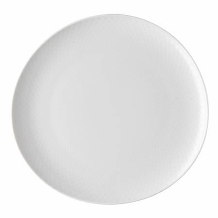 Junto White 27cm Relief Plate