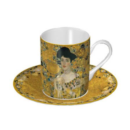 Klimt Adele Cup & Saucer