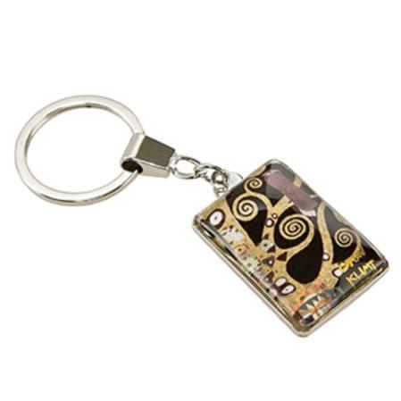 Klimt The Tree of Life Keyring