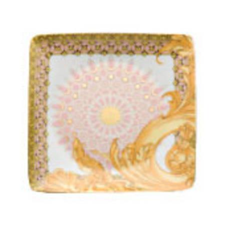 Les Reves Versace Square Dish Flat 12cm
