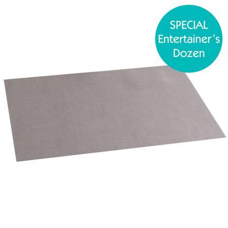 Entertainers Linea Q Placemat Set Sand