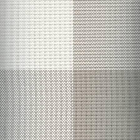 Linea Q Placemat Set 4 White Block