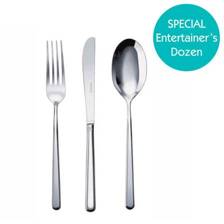 Entertainers Linear Cutlery Set